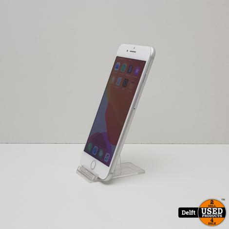Iphone 8 Plus 64GB Zilver//redelijke staat//3 maanden garantie