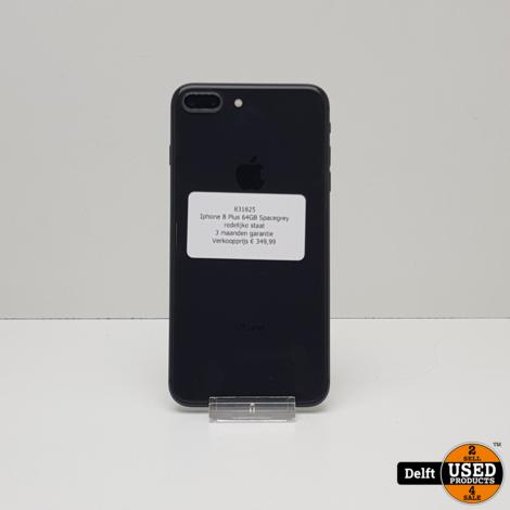 Iphone 8 Plus 64GB Spacegrey//redelijke staat//3 maanden garantie