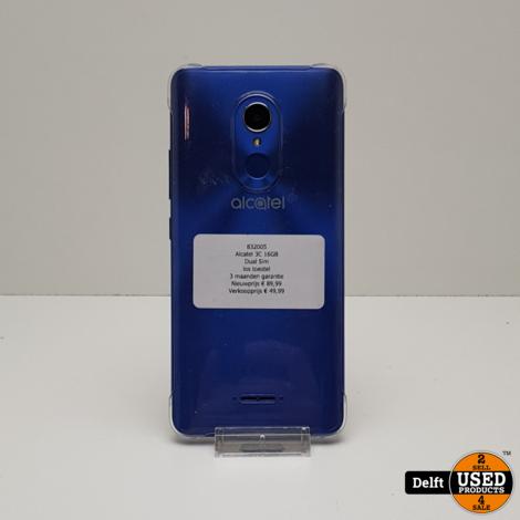 Alcatel 3C 16GB//Dual Sim// 3 maanden garantie