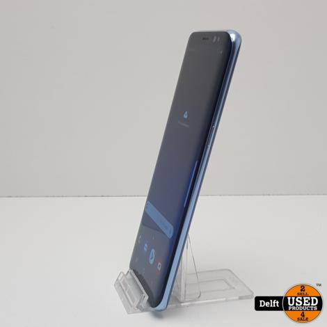 Samsung Galaxy S8 64GB Blue//gebruikt//3 maanden garantie