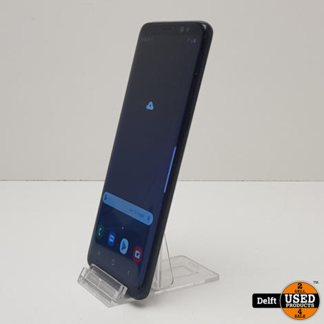 Samsung Galaxy S8 64GB Black//gebruikt//3 maanden garantie