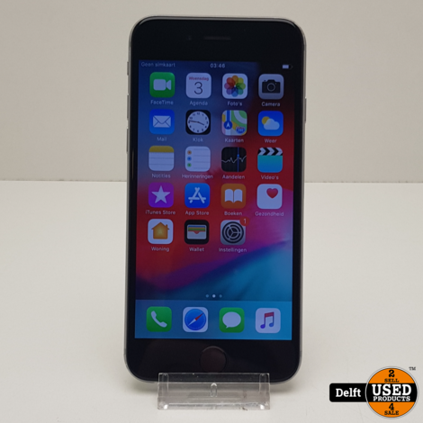 iphone 6 64gb spacegrey 3 maanden garantie