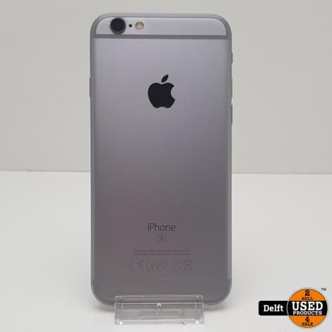 iPhone 6S 64GB Spacegrey//gebruikt//3 maanden garantie