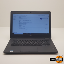 Dell Latitude E7270 i5-6300U 2.4GHZ 8GB 128GB SSD Win10Pro met 6 maanden garantie!