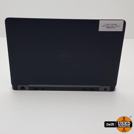 Dell Latitude E7270 i5 6300U 8GB 128SSD Win10Pro 6 maanden garantie