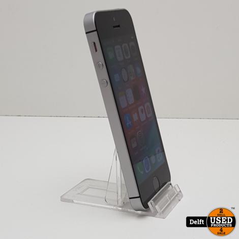 iPhone SE 32GB Spacegrey nette staat 3 maanden garantie