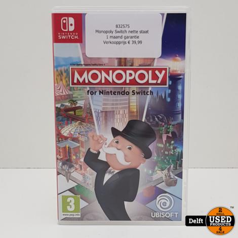 Monopoly Switch nette staat 1 maand garantie