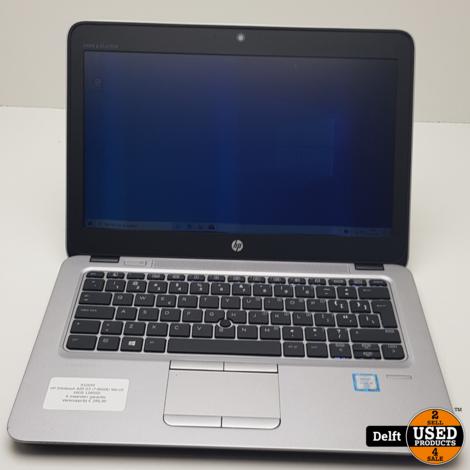 HP Elitebook 820 G3 i7-6600U Win10 16GB 128SSD 6 maanden garantie