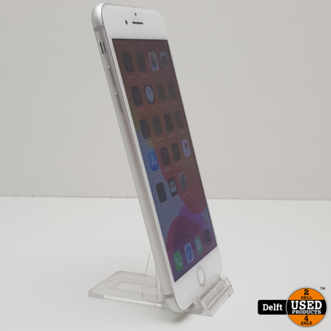 iPhone 8 plus 64GB Silver nette staat 3 maanden garantie