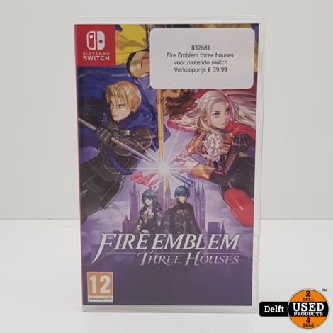 Fire Emblem three houses voor nintendo switch