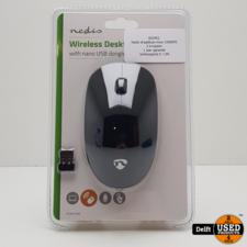 Nedis draadloze muis 1000DPI 3 knoppen  1 jaar garantie