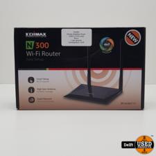 Edimax draadloze Router N300 2,4 GHz zwart//Nieuw//2 jaar garantie