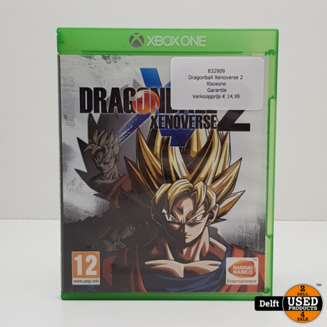 Dragonball Xenoverse 2 voor Xbox one