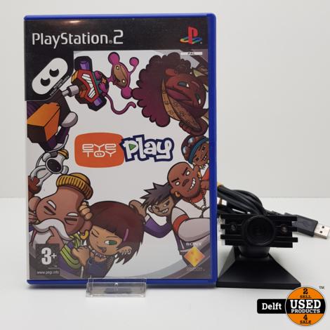 Playstation 2 Eye toy camera nette staat garantie