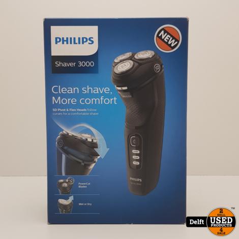philips S3233 shaver 3000 nieuw 1 maand garantie