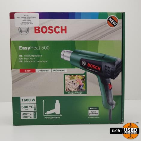 Bosch Easyheat 500 verfstripper 1600 Watt nieuw in doos