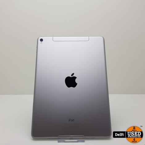 iPad Pro 9.7 128GB 4G Spacegrey nette staat 3 maanden garantie