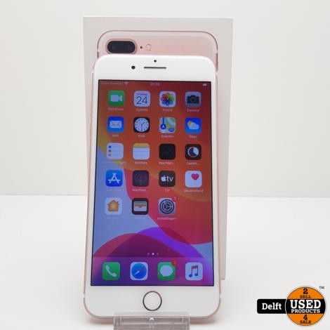 iPhone 7 Plus 32GB RoseGold Nette staat 3 maanden garantie