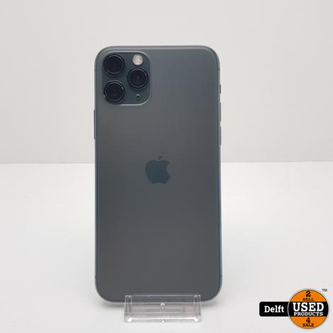 IPhone 11 Pro 64GB Midnight Green nette staat garantie