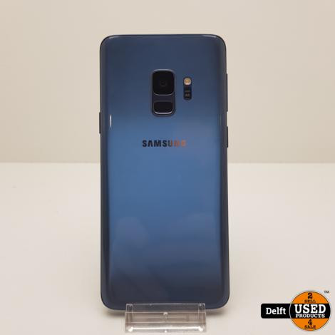 Samsung Galaxy s9 Blue redelijke staat garantie