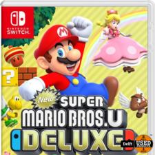 Super Mario Bros U Deluxe Switch nette staat garantie