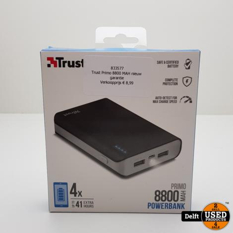 Trust Primo 8800 MAH nieuw garantie