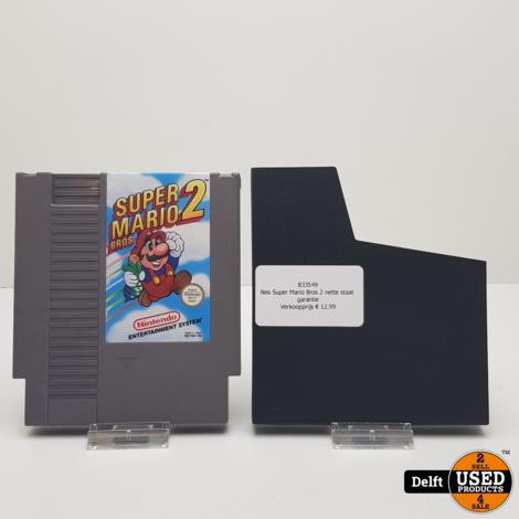 Nes Super Mario Bros 2 nette staat garantie