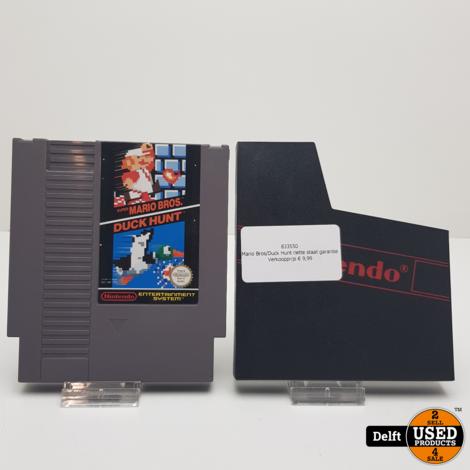 Mario Bros/Duck Hunt nette staat garantie