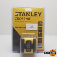 Stanley Cross 90 Red nieuw garantie