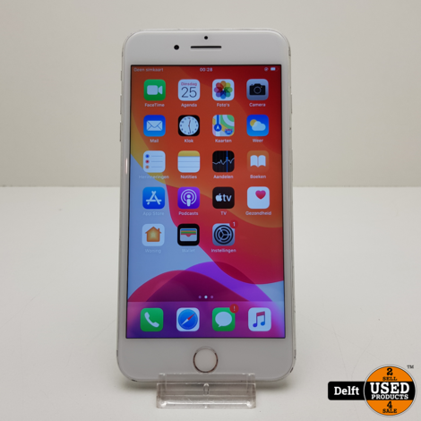 iPhone 7 Plus 32GB Silver gebruikt 3 maanden garantie