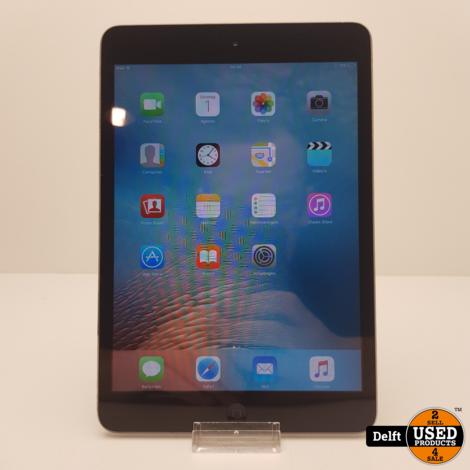 iPad mini 1 16GB Spacegrey gebruikt 3 maanden garantie