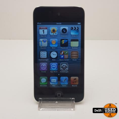iPod Touch 4e gen 8GB gebruikt 1 maand garantie