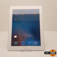 apple iPad 2 16GB Wifi Zilver nette staat 3 maanden garantie
