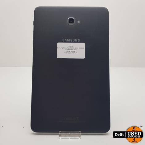 Samsung Galaxy Tab A 2016 (10.1, 4G) 16GB - Zwart nette staat zonder oplader