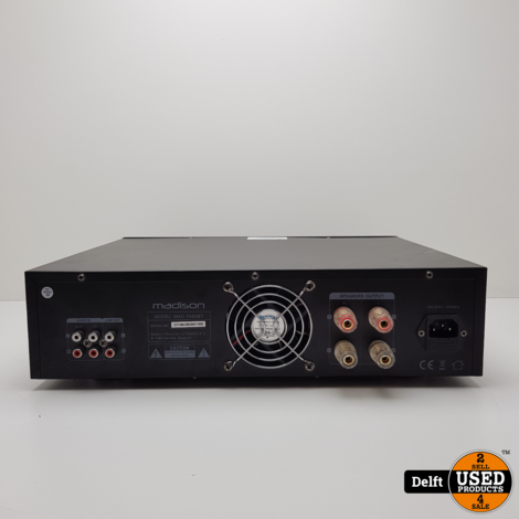 Madison MAD-TA80BT Amplifier 1 maand garantie