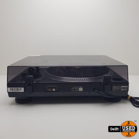 Lenco L-400BK platenspeler nette staat 1 maand garantie