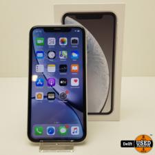 apple iPhone XR 64GB White nette staat 3 maanden garantie