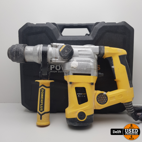 Powerplus POWX1172 Elektrische Boorhamer 1250W | Breekhamer SDS-Type garantie