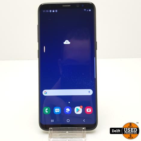 Samsung Galaxy S8 64GB Black nette staat garantie