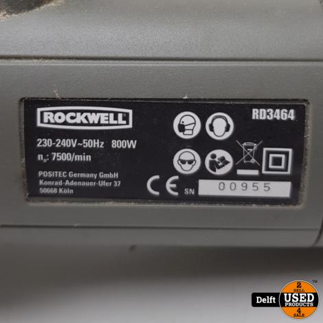 Rockwell RD 3464 Cirkelzaag nette staat 1 maand garantie