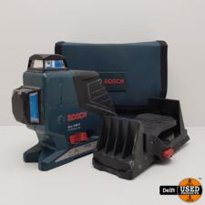 Bosch Bosch Gll 3-80 P kruislijn laser nette staat 1 maand garantie