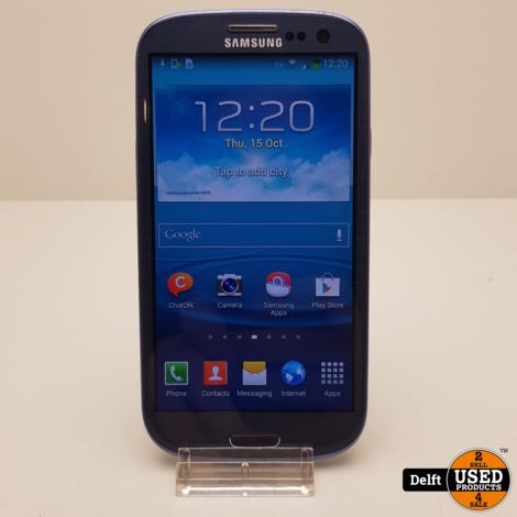 Samsung Galaxy S3 16GB black nette staat 3 maanden garantie