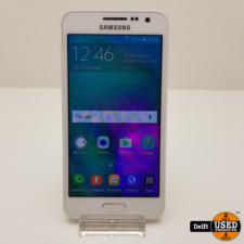 Samsung Samsung Galaxy A3 2015 16GB White nette staat 3 maanden garantie