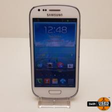 Samsung Samsung Galaxy S3 mini 8GB White nette staat 3 maanden garantie