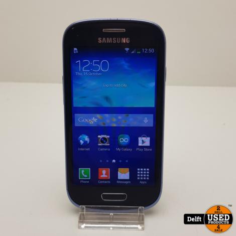 Samsung Galaxy S3 mini VE 8GB black nette staat 3 maanden garantie