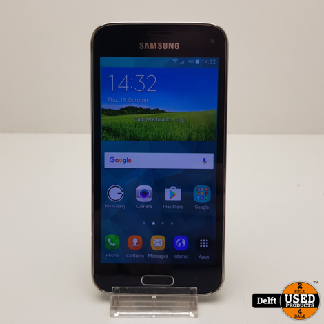 Samsung Galaxy s5 Mini 16GB Black nette staat 3 maanden garantie