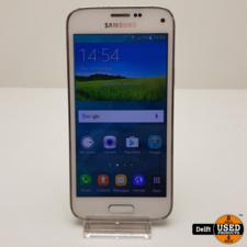 Samsung Samsung Galaxy S5 Mini 16GB White nette staat 3 maanden garantie