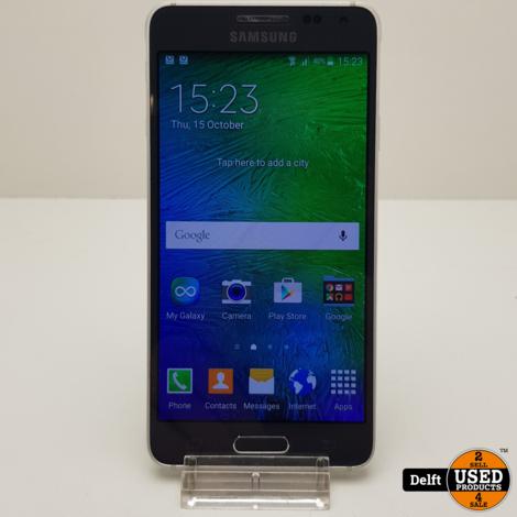 Samsung Galaxy Alpha 32GB Black nette staat 3 maanden garantie