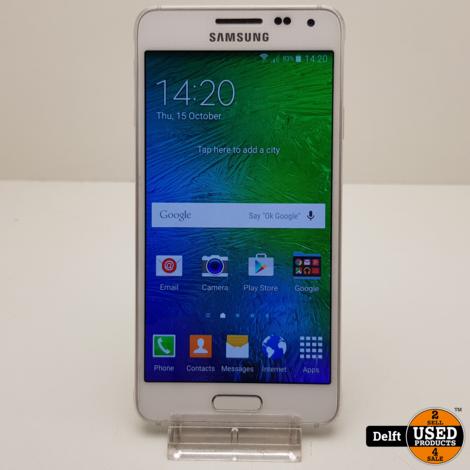 Samsung Galaxy Alpha 32GB White nette staat 3 maanden garantie