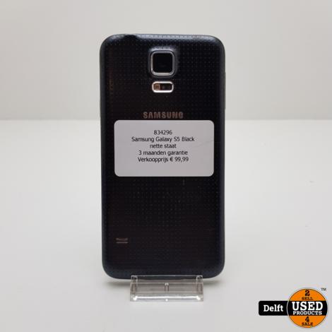 Samsung Galaxy S5 Black nette staat 3 maanden garantie